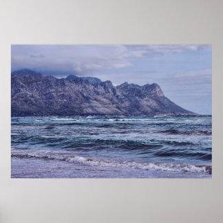Gordon's Bay in the Cape Poster