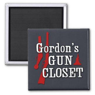 Gordon's Gun Closet magnet
