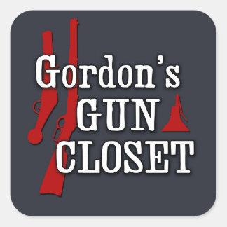 Gordon's Gun Closet sticker