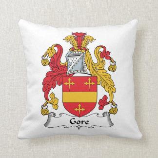 Gore Family Crest Throw Pillow