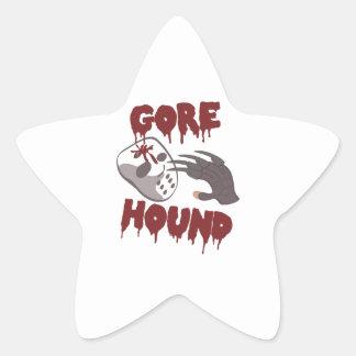 Gore Hound Star Sticker