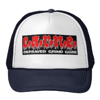 Gore meat trucker hat