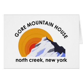 Gore Mountain House Note Card