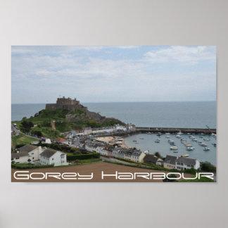 Gorey Harbour Vista Poster
