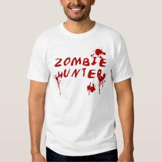 Gorey Zombie Hunter Tshirt - Walking Dead Horror