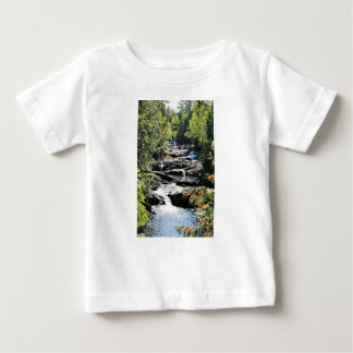 Gorge at Moxie Falls in West Forks Maine Baby T-Shirt