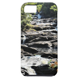 Gorge at Moxie Falls in West Forks Maine iPhone 5 Cover