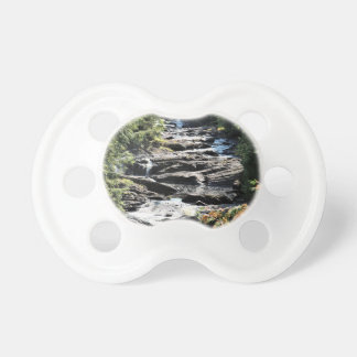 Gorge at Moxie Falls in West Forks Maine Pacifier