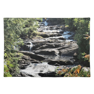 Gorge at Moxie Falls in West Forks Maine Placemat