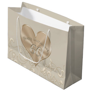 Gorgeous 60th Wedding Anniversary Gift Bags