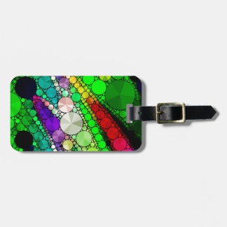 Gorgeous Abstract Bling Pattern Bag Tag