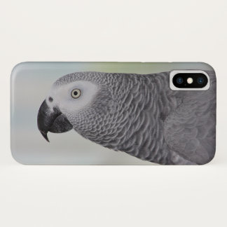Gorgeous African Grey Parrot iPhone X Case