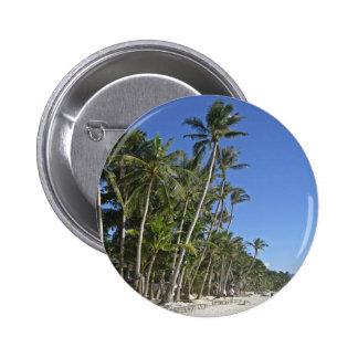Gorgeous Beach Shoreline 2 Inch Round Button