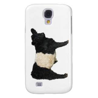 Gorgeous Belted Galloway Steer Cutout