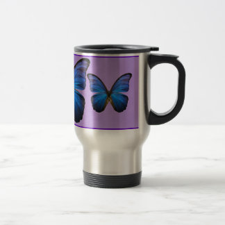 Gorgeous Blue Morpho Butterfly Mugs
