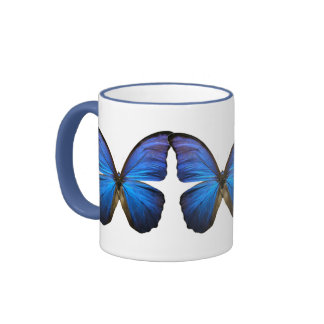 Gorgeous Blue Morpho Butterfly Mug