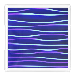 Gorgeous blue water - Acrylic tray