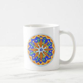 Gorgeous Bright Goldfish Mandala Design Coffe Mug
