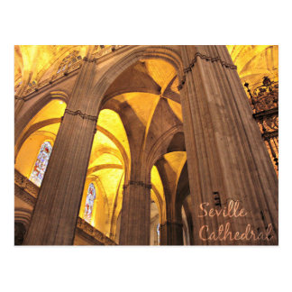 Gorgeous Cathedral of Seville, Spain Postcard