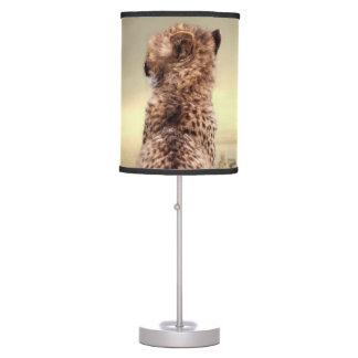 Gorgeous cheetah table lamp