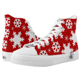 Gorgeous Christmas High Top Shoes!