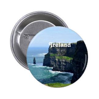 Gorgeous Cliffs of Moher 2 Inch Round Button