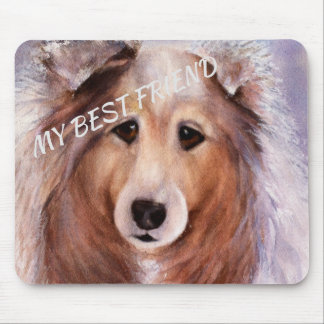 GORGEOUS COLLIE MOUSE PAD