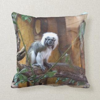 Gorgeous Colobus Throw Pillow