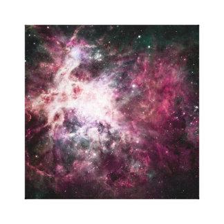 Gorgeous Colorful Nebula Canvas Print
