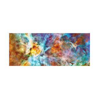 Gorgeous Colorful Nebula Canvas Print
