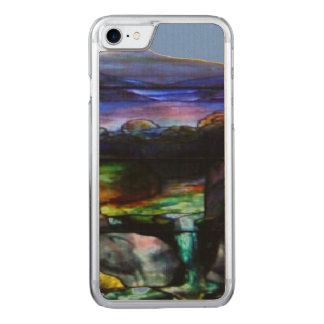 Gorgeous Colors Stain Glass Nature Carved iPhone 8/7 Case