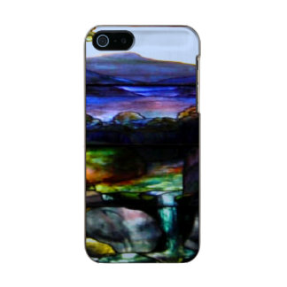 Gorgeous Colors Stain Glass Nature Incipio Feather® Shine iPhone 5 Case