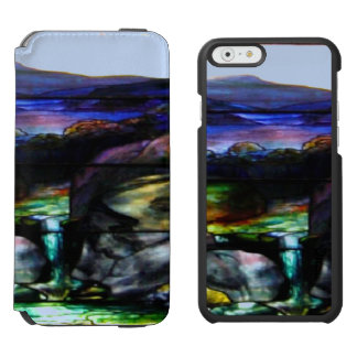 Gorgeous Colors Stain Glass Nature Incipio Watson™ iPhone 6 Wallet Case