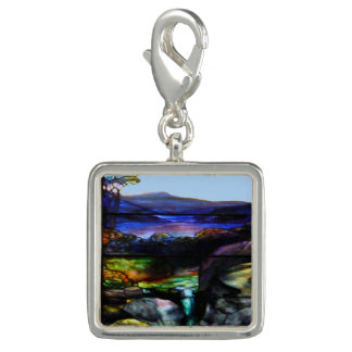 Gorgeous Colors Stain Glass Nature Photo Charms