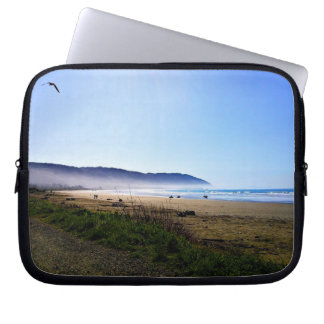 Gorgeous Day in Crescent City Beach, California Laptop Computer Sleeve
