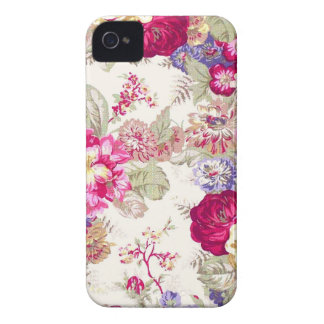 Gorgeous Display of Roses Vintage Image Design iPhone 4 Cover