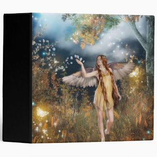 Gorgeous fairy taking a stroll in the moonlight. binders