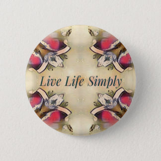 Gorgeous  Fall Yellow Simple Lifestyle Home Decor 2 Inch Round Button
