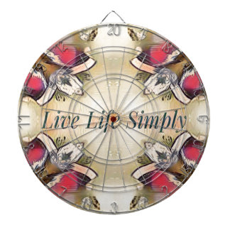 Gorgeous  Fall Yellow Simple Lifestyle Home Decor Dartboard