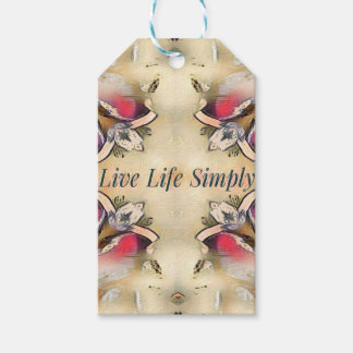 Gorgeous  Fall Yellow Simple Lifestyle Home Decor Gift Tags