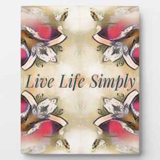 Gorgeous  Fall Yellow Simple Lifestyle Home Decor Plaque