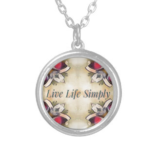 Gorgeous  Fall Yellow Simple Lifestyle Home Decor Silver Plated Necklace