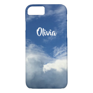 Gorgeous Fat Clouds in a Blue & White Sky, Photo Case-Mate iPhone Case