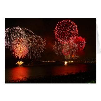gorgeous fireworks card