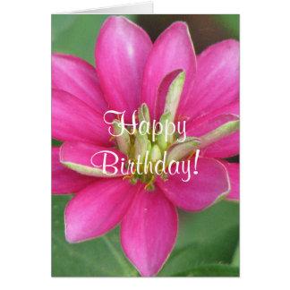Gorgeous Flower Greeting Card