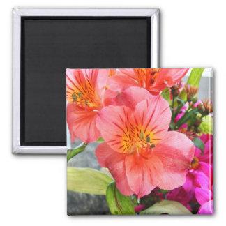 Gorgeous Flower Magnet