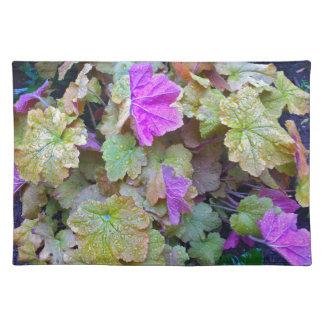 Gorgeous foliage placemats. placemats