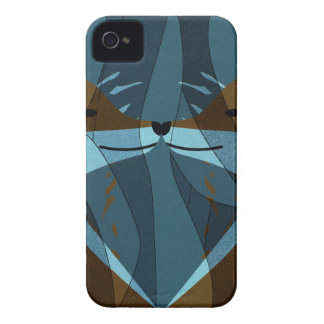 Gorgeous Foxes Kiss Design iPhone 4 Cover