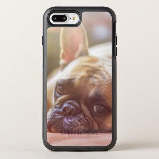 Gorgeous french bulldog lying down OtterBox symmetry iPhone 8 plus/7 plus case
