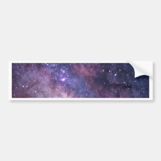 gorgeous galaxy print goodness bumper sticker
